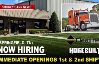 Springfield's Hogebuilt/Fleetline Expands, Adding Second Shift