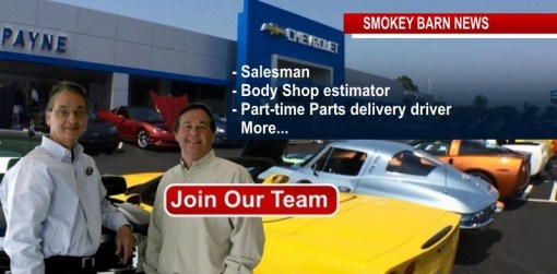 Payne Chevrolet Is Hiring Across the Board