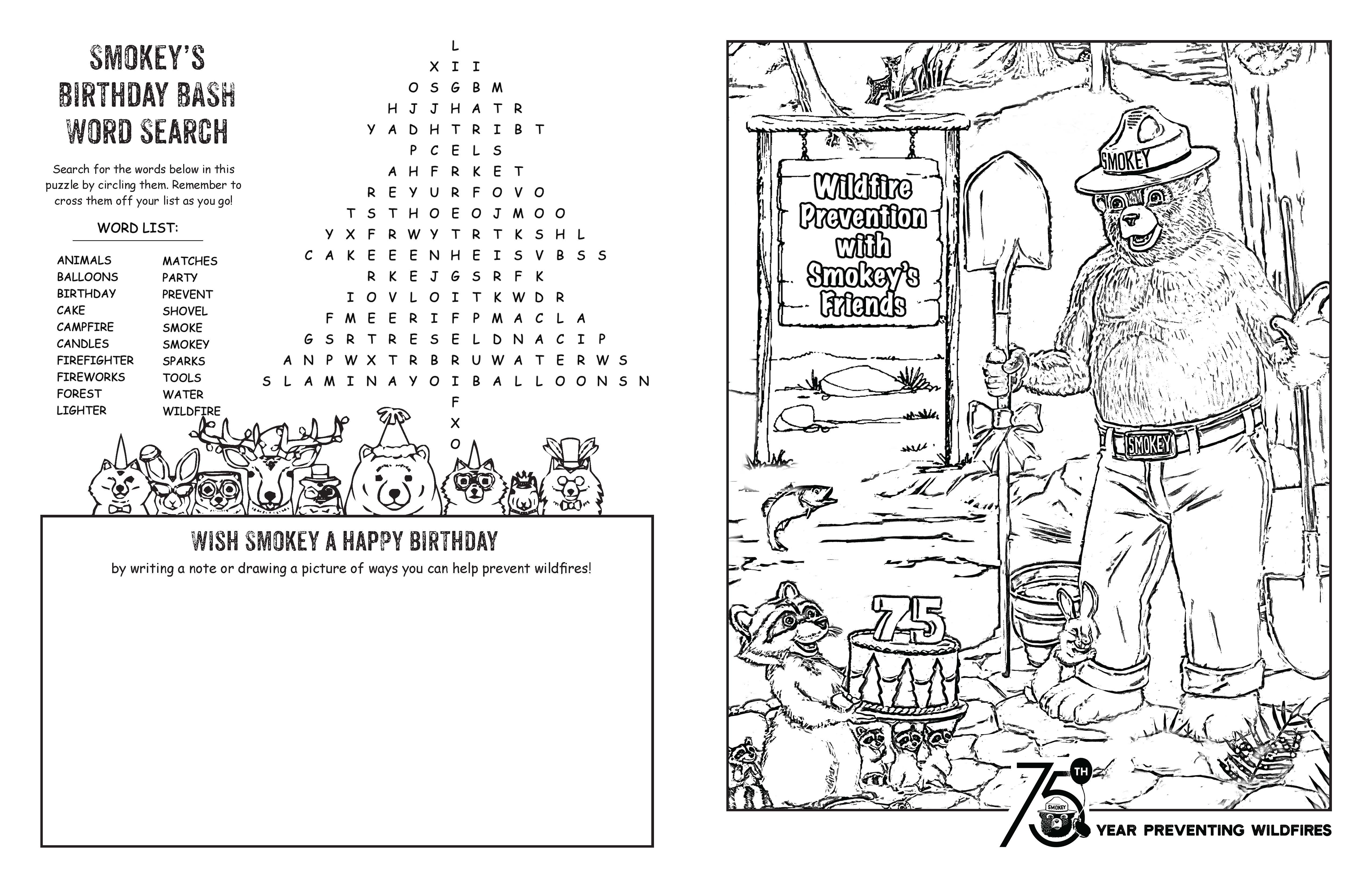Event Materials Smokey Bear Campaign Toolkit