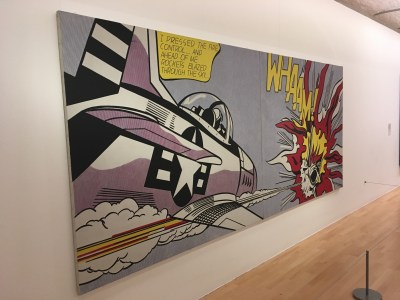 Roy Lichtenstein at Tate Liverpool