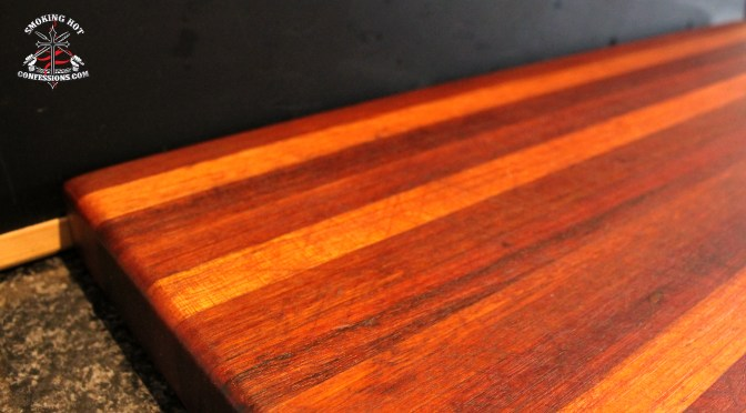 How to Restore a Cutting Board