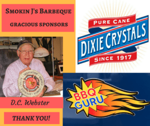 Smokin J's Barbeque Sponsors