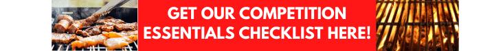BBQ competition essential checklist promo