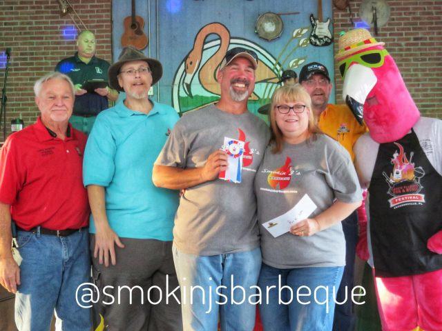 Smokin Flamingo Pork Butt/Smokin J's Barbeque