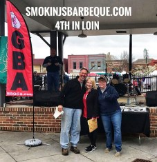 BBQ & Brews Cartersville Smokin J's Barbeque Results