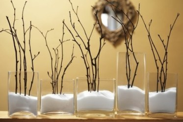 recycled-glasses-vases-fall-decorations