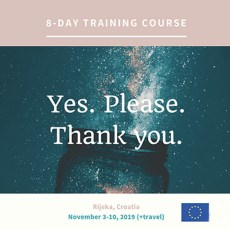 Yes. Please. Thank You. – Training Course in Croatia