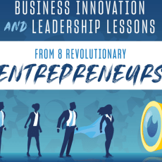 Business Innovation and Leadership Lessons From 8 Revolutionary Entrepreneurs