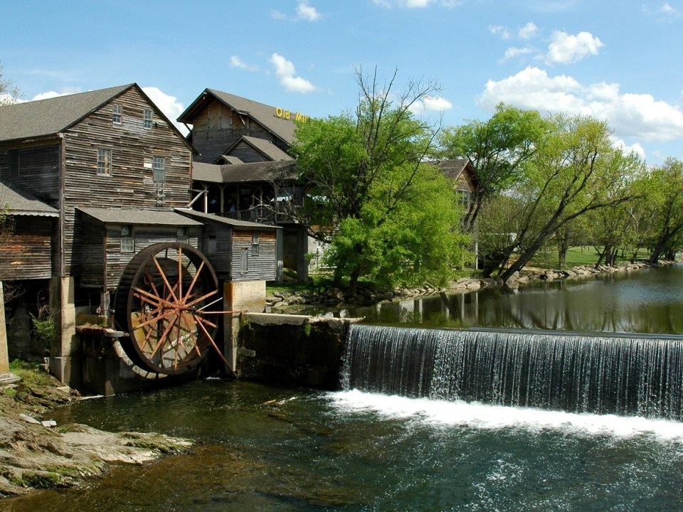Cabins in Pigeon Forge, Old Mill General Store, Pigeon Forge, Pigeon Forge Cabins, Pigeon Forge Old Mill, Stay in Pigeon Forge, The Old Mill, What to do in Pigeon Forge