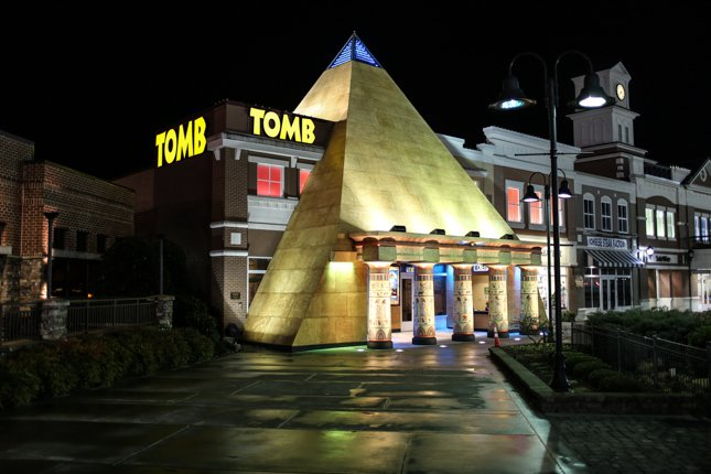 The Tomb Pigeon Forge  Review Photos Information  Pricing