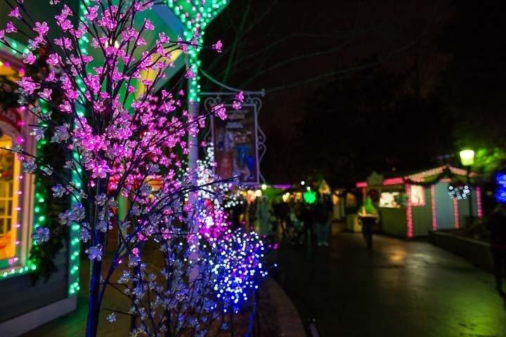Dollywood Christmas Lights  smokymountainscom