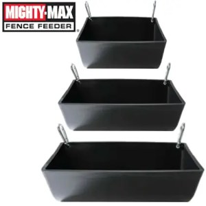 Mighty Max Heavy Duty Clip On Fence Feeder