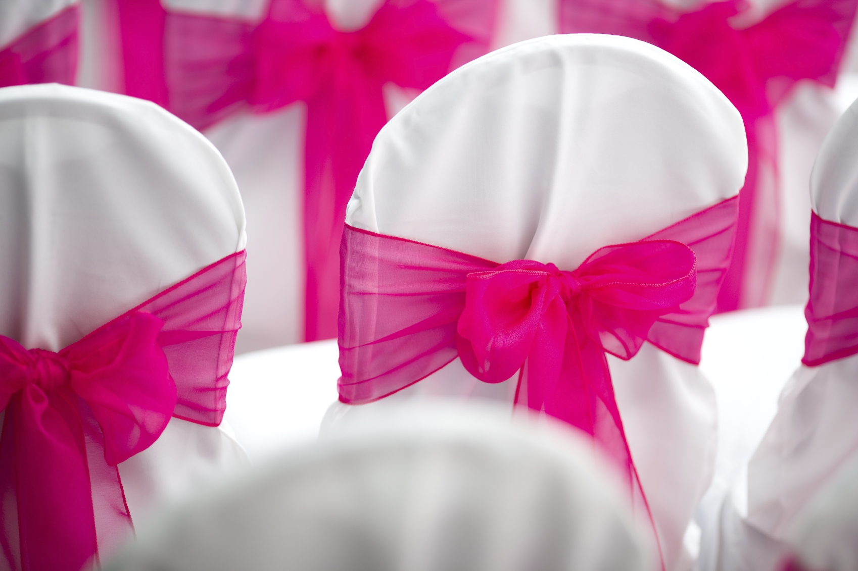 chair covers with pink bows folding materials smoochweddings 39s blog