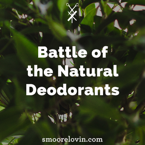 Battle of the Natural Deodorants