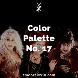 A color Palette Based on Hocus Pocus