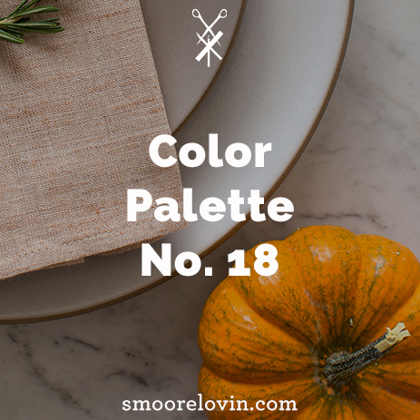Color Palette No. 18 | Friendsgiving Decoration Inspiration