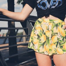 Graphic-T + Patterned Shorts | The Perfect Daytime Outfit Combo