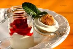 Verrine Dessert Tricolore © Liz Collet