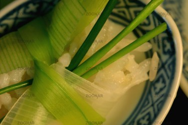 Green Asian Food© Liz Collet