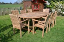 clean teak wood outdoor