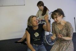 Titus Andronicus Rehearsals for Act 3