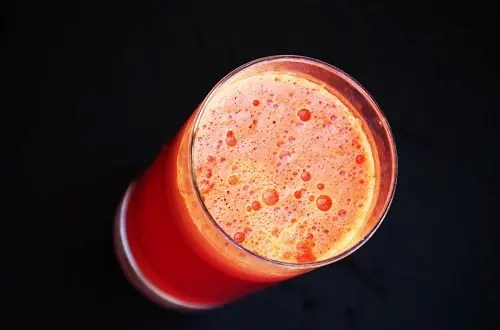 Carrot beet whole30 smoothie