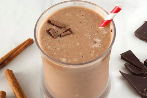 Keto Avocado Chocolate Smoothie