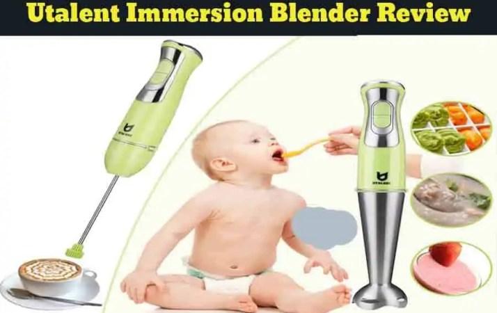 Utalent Immersion Blender Review