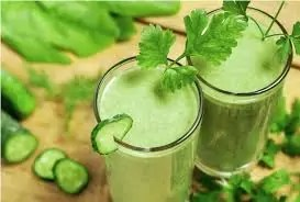 13. CRAZY CUCUMBER GREEN SMOOTHIE