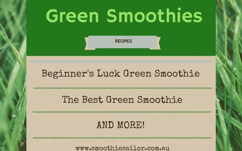 5 Best & Yummiest GREEN SMOOTHIES