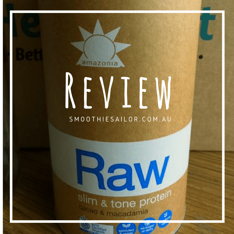 Review of Amazonia Raw Slim and Tone Protein - Cacao Macadamia