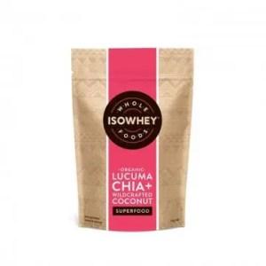 Isowhey lucuma chia wildcrafted coconut powder