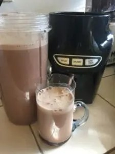 Nutriforce Extractor blender finished iced mocha 2
