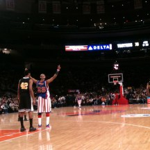 In February, I got to go to a Harlem Globetrotters game thanks to my cousin Josh. SO. MUCH. FUN!