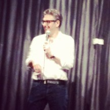 Oh, and did I mention we got to see Ira Glass live and from the third row? Must've slipped my mind... ; )
