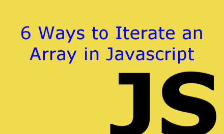 6 ways to iterate an array in javascript