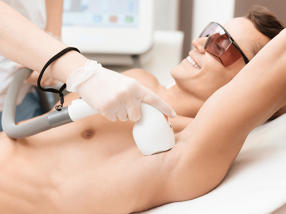 Smooth-Reflection-by-Jaclyn-Latham-New-York-Services-Laser-Hair-Removal on Man