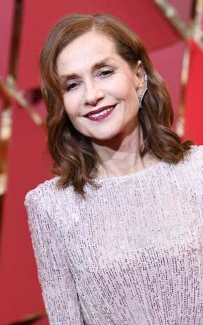 Isabelle Huppert with Repossi jewels