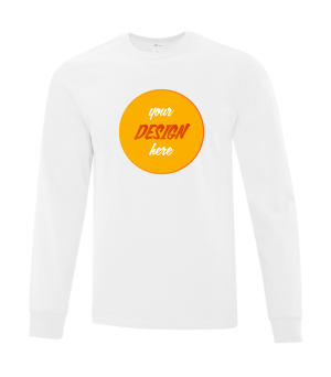 Customizable Long Sleeve T-Shirt