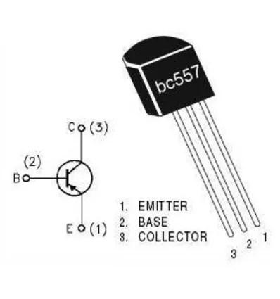 Transistor BC 557 B