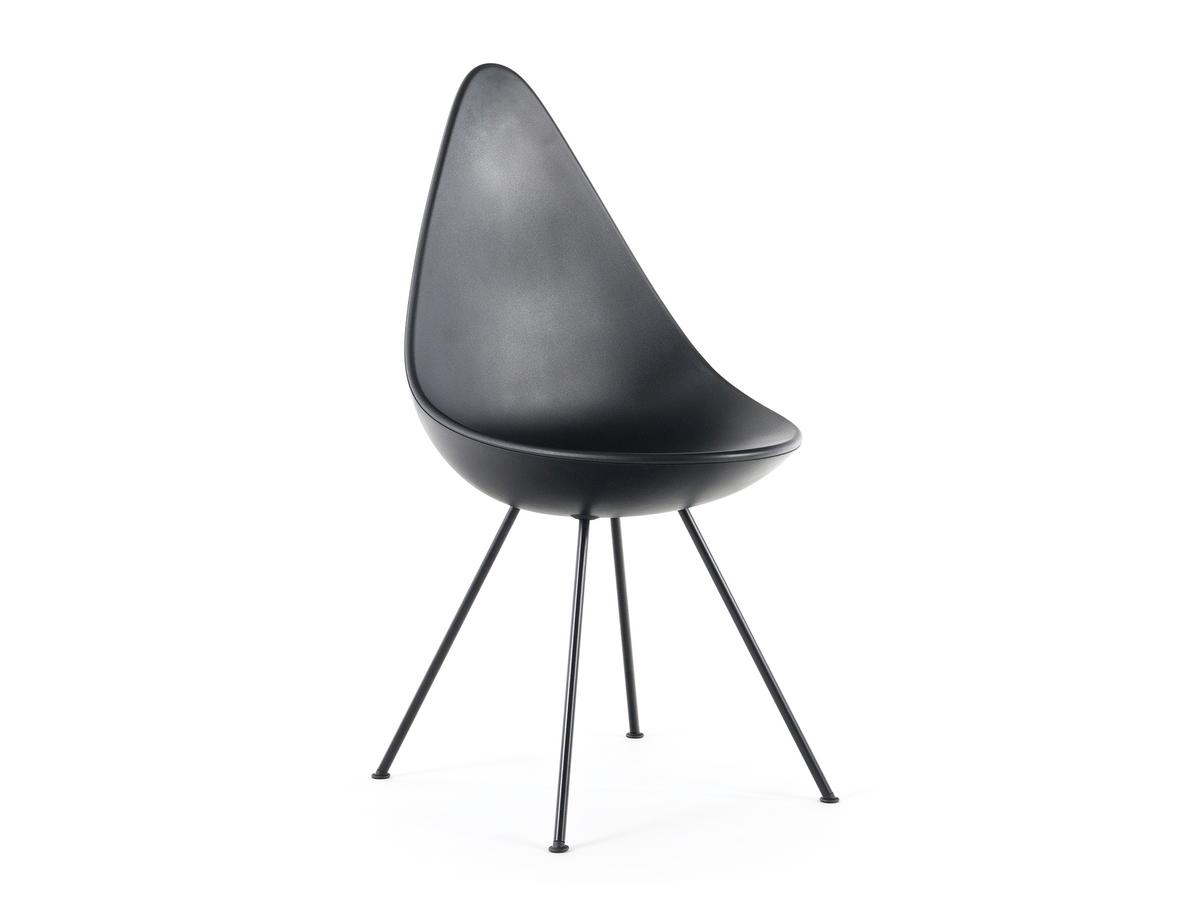 Fritz Hansen Chairs Fritz Hansen Drop Black Shell Colour