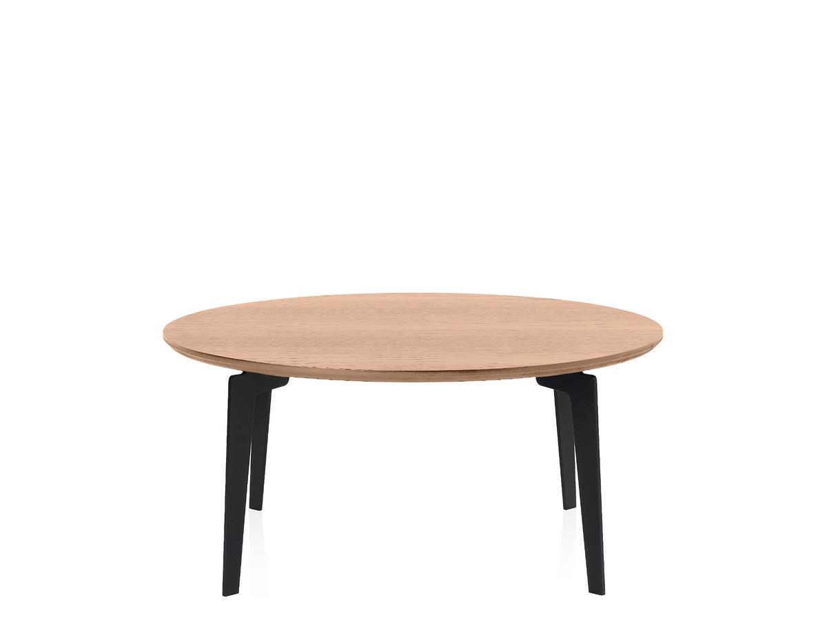 Couchtisch Antonio Fritz Hansen Join Coffee Table, Fh41 - Round 80 Cm, Clear Varnished Oak By Fritz Hansen, 2014 - Designer Furniture By Smow.com