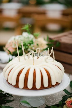 Nothing Bundt Cakes Wedding Inspiration Style Me Pretty