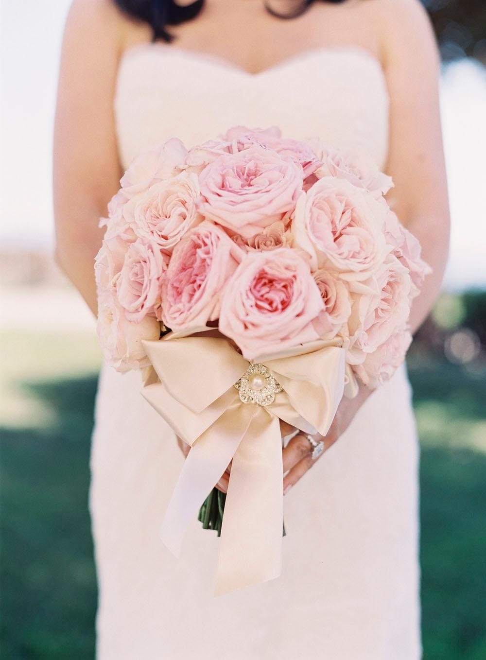 Pink Ombre Seaside Wedding