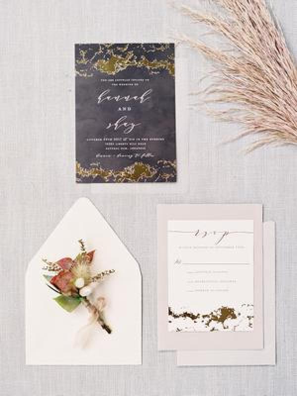 Invitations Wedding Inspiration Style