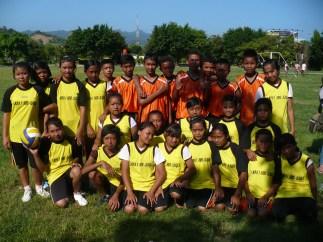 Team Bola Basket PaPi, mereka telah mengharumkan nama sekolah setelah menjadi juara tingkat kabupaten