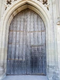 Main door to castle