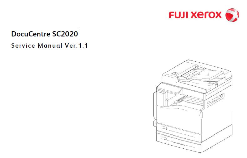 Fuji Xerox DocuCentre SC2020 Service Manual :: Xerox