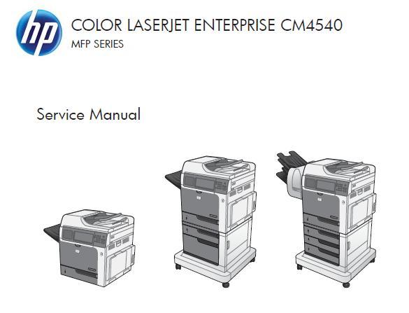 HP Color LaserJet Enterprise CM4540/CM4540f/CM4540fskm MFP