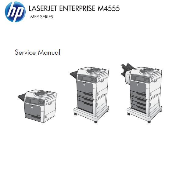 HP LaserJet Enterprise M4555 h/f/fskm MFP Service Manual